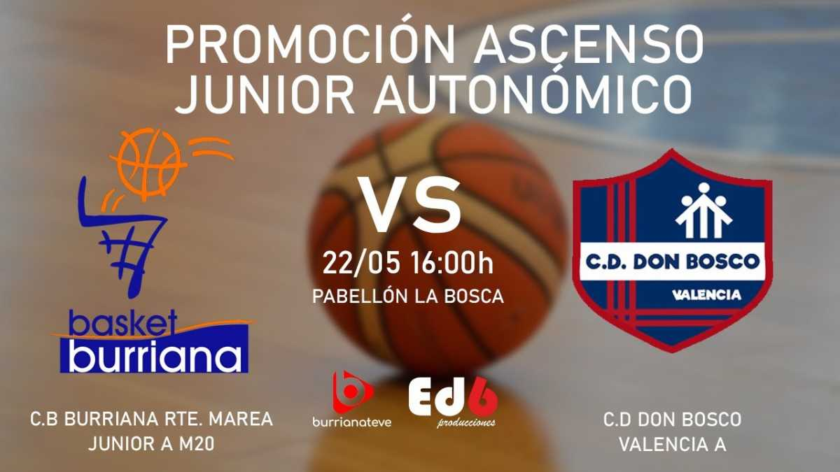 CB Burriana vs CD Don Bosco Valencia A