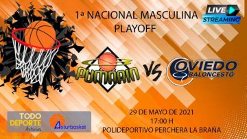 Directo – 1ª Nacional Masculina – CB Pumarin VS Liberbank Oviedo