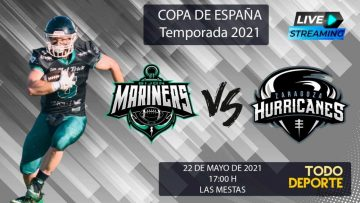 🖥 Directo – Copa de España – Temporada 2021 – Mariners Gijón  VS. Zaragoza Hurricanes