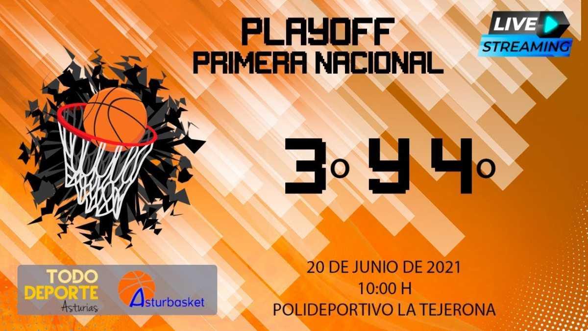 10:00 20-06-2021 FINAL FOUR 1ª Nacional – 3º y 4º puesto
