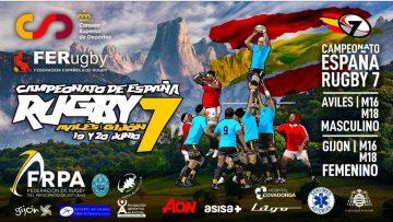 15:25 19-06-2021 CAMPEONATO DE ESPAÑA Rugby 7- Sub 16 – Sub 18 – Femenino