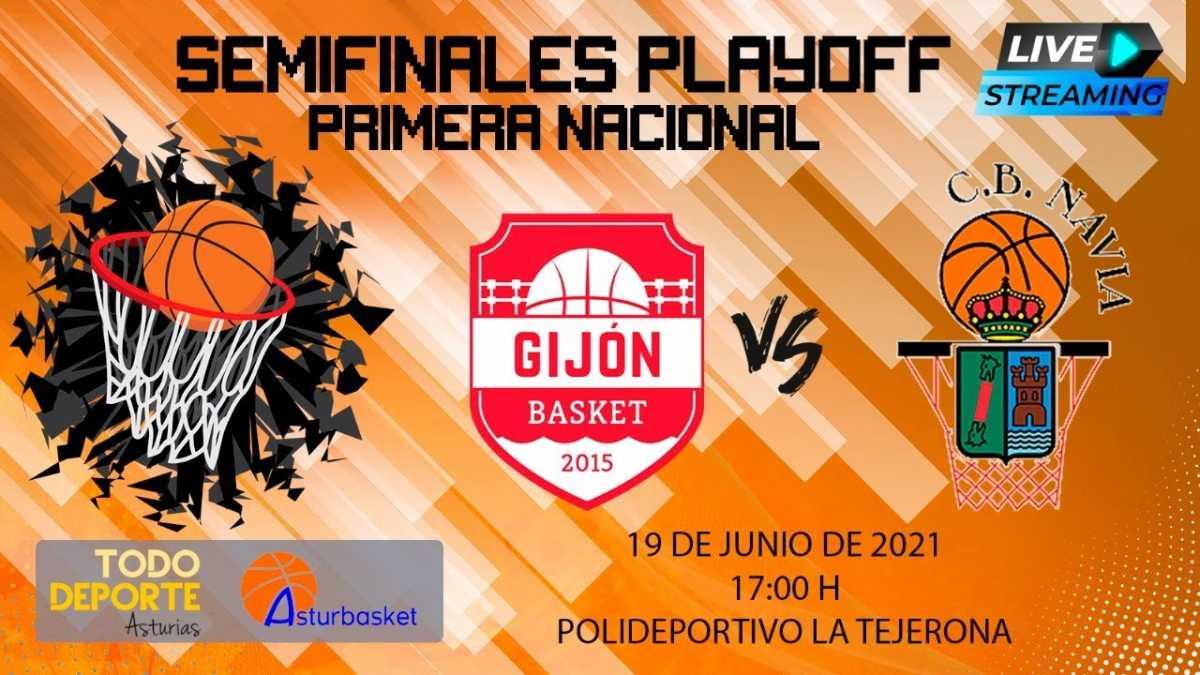 17:00 19-06-2021 FINAL FOUR 1ª Nacional – Gijón Basket vs CB Navia