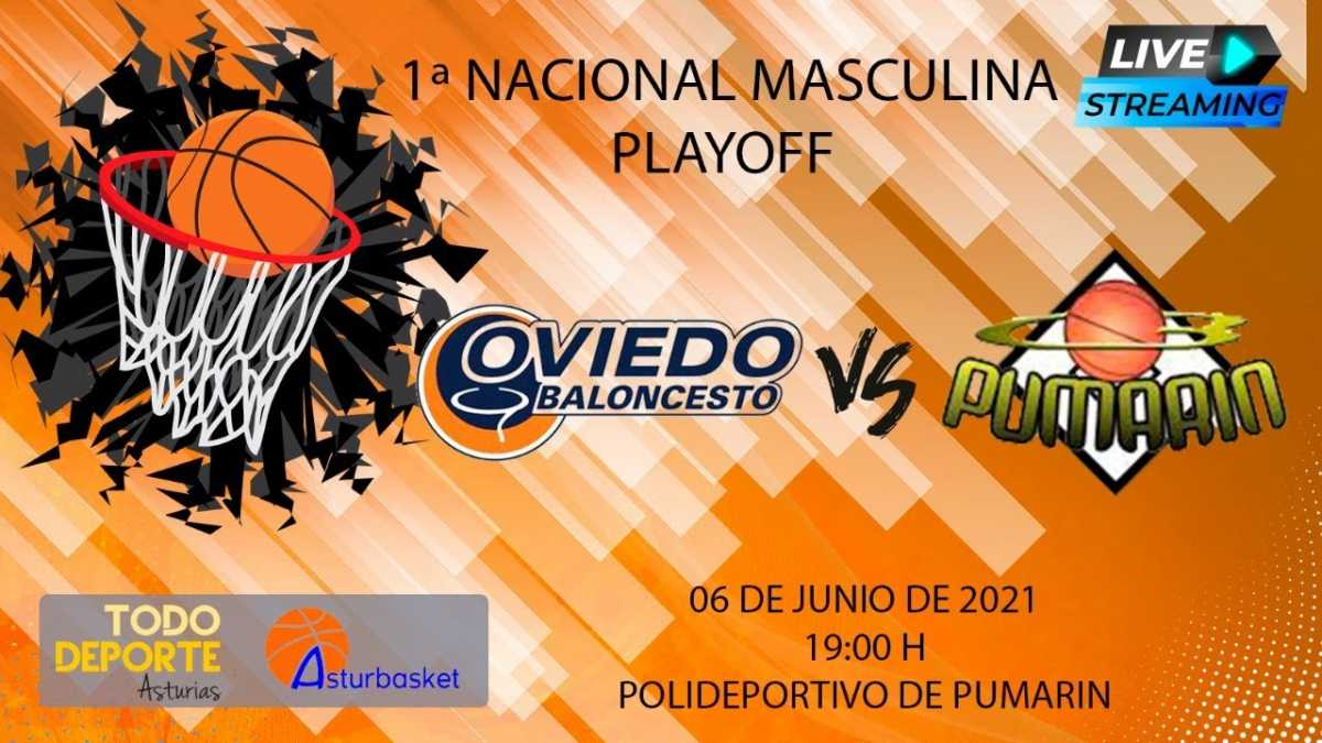 Directo – 1ª Nacional Masculina – Liberbank Oviedo VS CB Pumarin